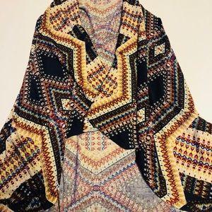Other - Kimono lg/xl Aztec design